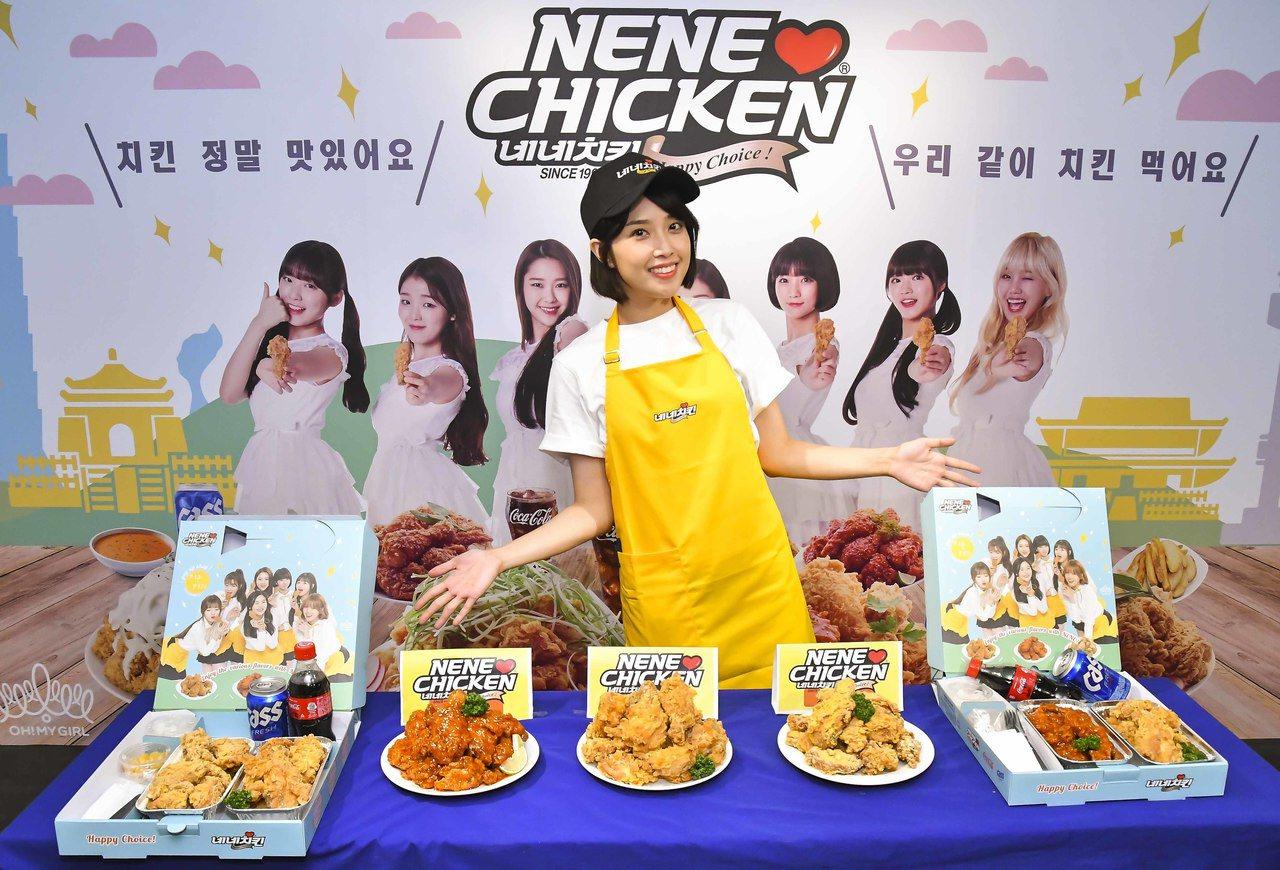 快閃期間3種口味提供「半半炸雞」組合方式販售。記者張芳瑜/攝影