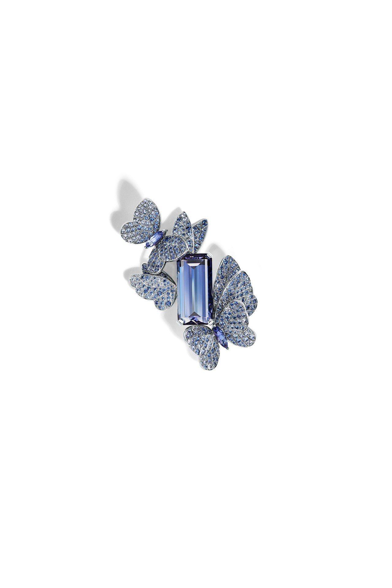 Tiffany 2018 Blue Book系列夏季主題,鉑金鑲嵌主石逾27克拉...