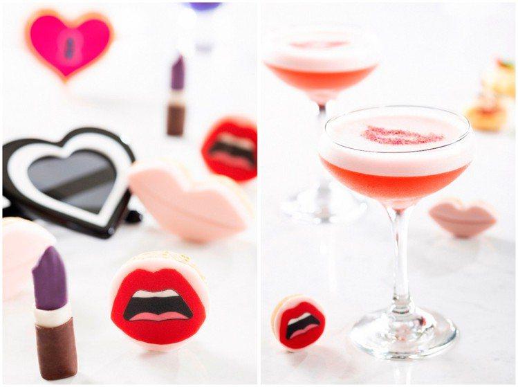 馬可波羅酒廊、Yazbukey聯名(左起)口紅巧克力、Pink Lady紫色高跟...
