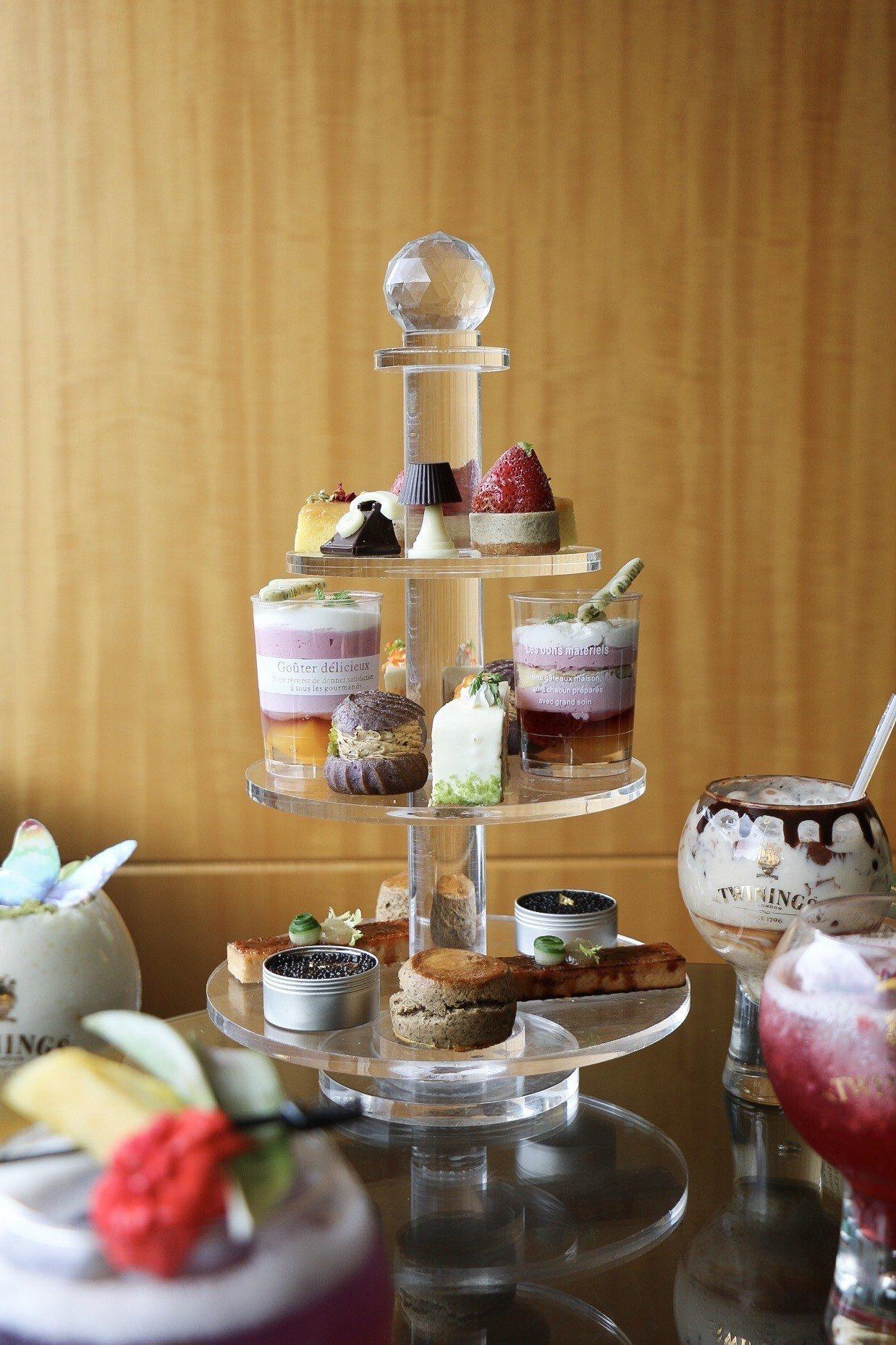 六福Elite Café穿越英倫下午茶。記者謝欣倫/攝影