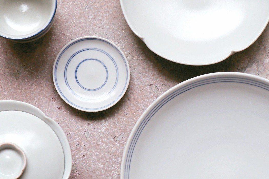 柏木円的瓷器在台中展出。 圖/森/CASA提供