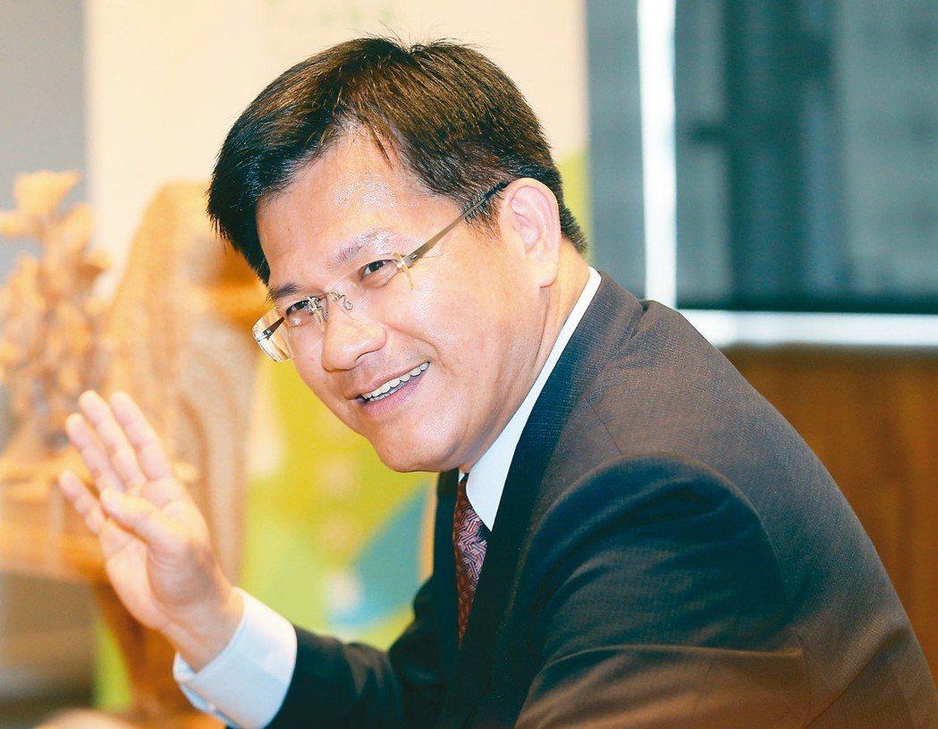 台中市長林佳龍。 聯合報系資料照/記者黃仲裕攝影