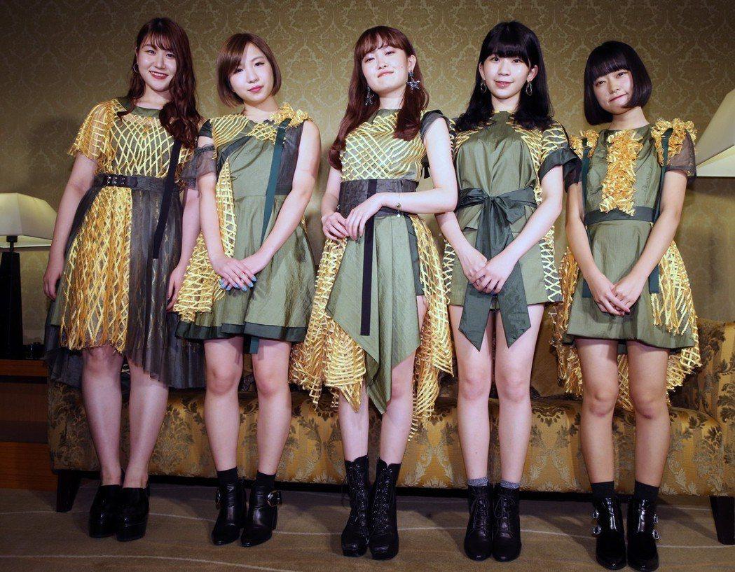「Little Glee Monster」要用最強合聲,征服台灣樂迷的耳朵。記者