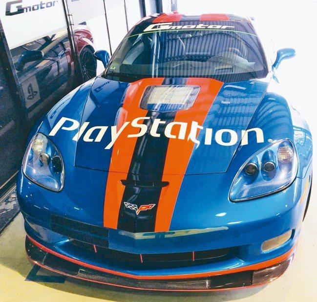 電玩迷喜愛的Play Station GT4賽車遊戲台灣區廣告主角車也將展出。 ...
