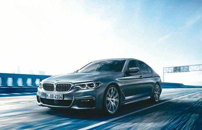 BMW大5系列深具智能先驅領導地位。 圖/汎德
