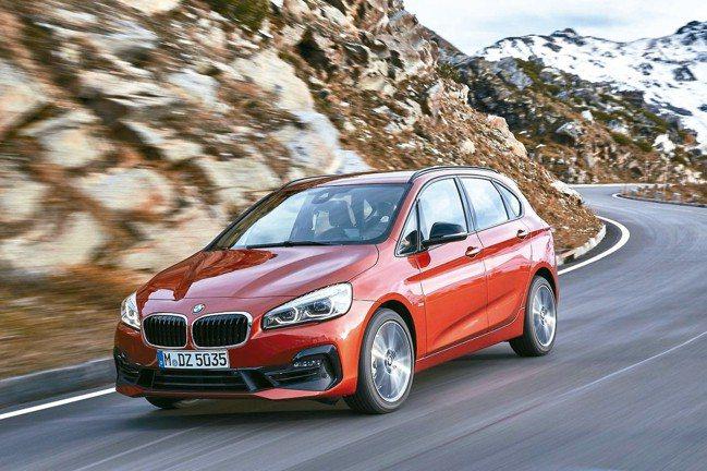 BMW 2系列Active Tourer 圖/汎德