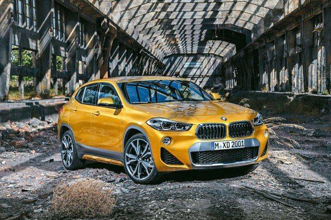 BMW X2豪華跨界跑旅 圖/汎德