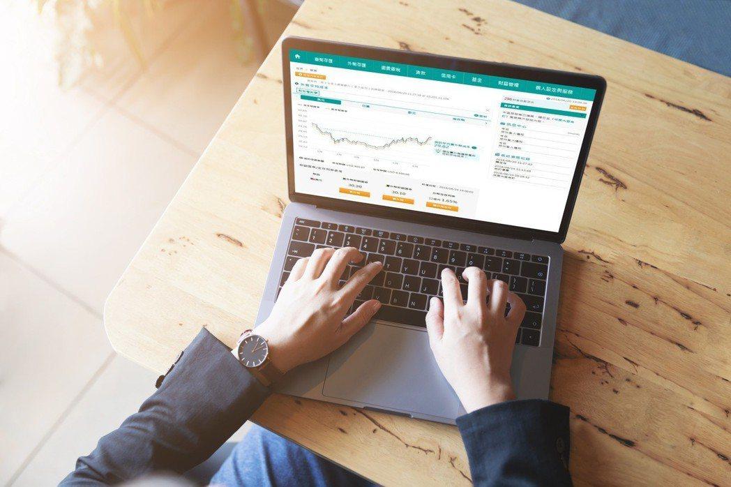 玉山銀行外匯服務再升級,首推外幣平均成本新功能。 玉山銀行/提供