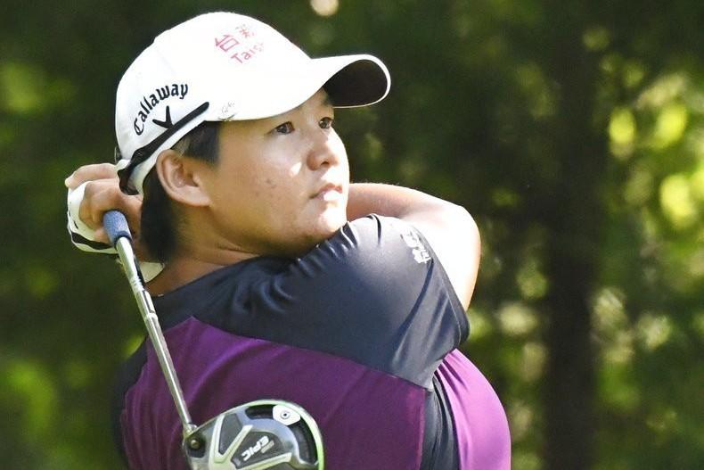 曾雅妮參加2018年美國女子職業高爾夫巡迴賽(LPGA)。 美聯社