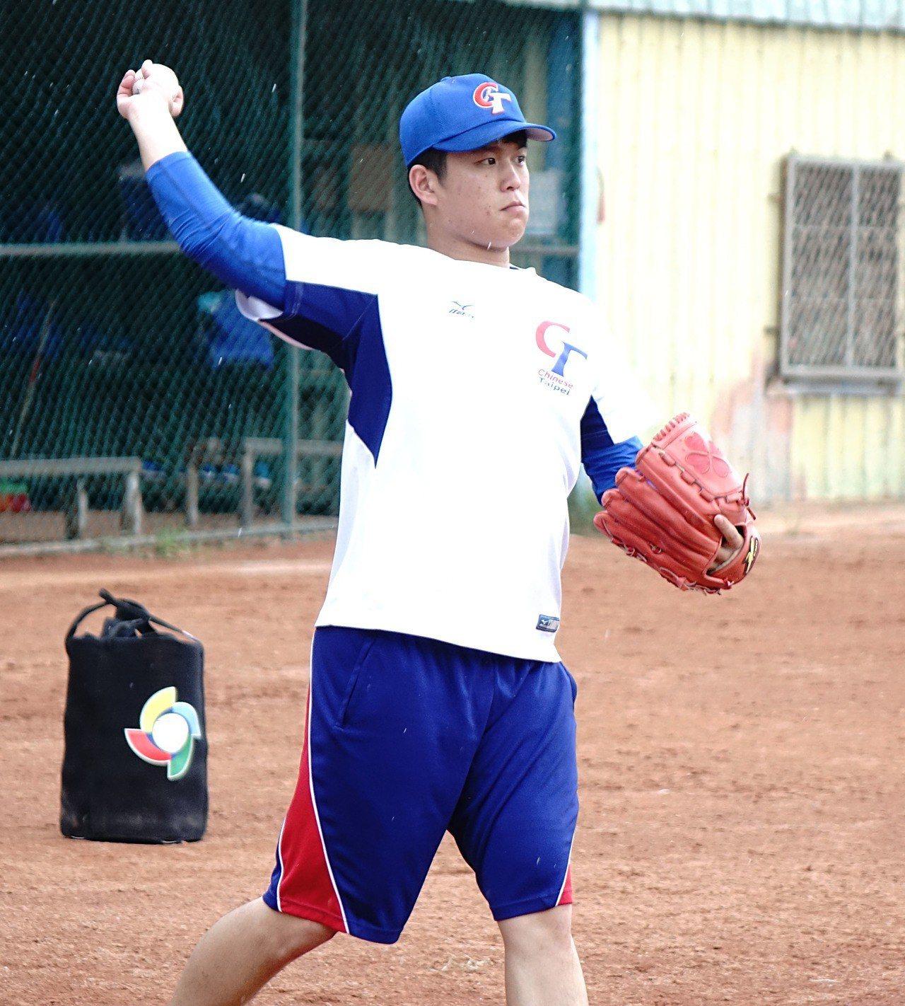 2018世界大學棒球錦標賽中華隊19歲投手蘇俊璋,在世大棒賽事中扛起終結者重任,...