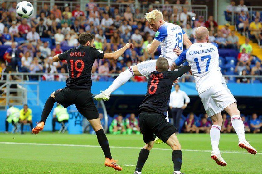 克羅埃西亞在小組賽對冰島之戰只要踢和就能拿下分組第一,但他們還是主力球員全上與冰...
