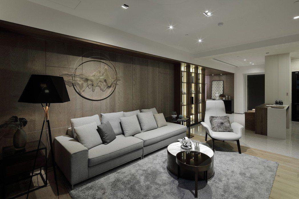 台灣首座全棟裝潢板材施作除甲醛處理、提供住宅最高的安全與舒適度。 圖片提供/嵩豐...