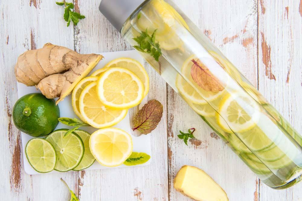 檸檬排毒水。圖/台灣營養授權使用