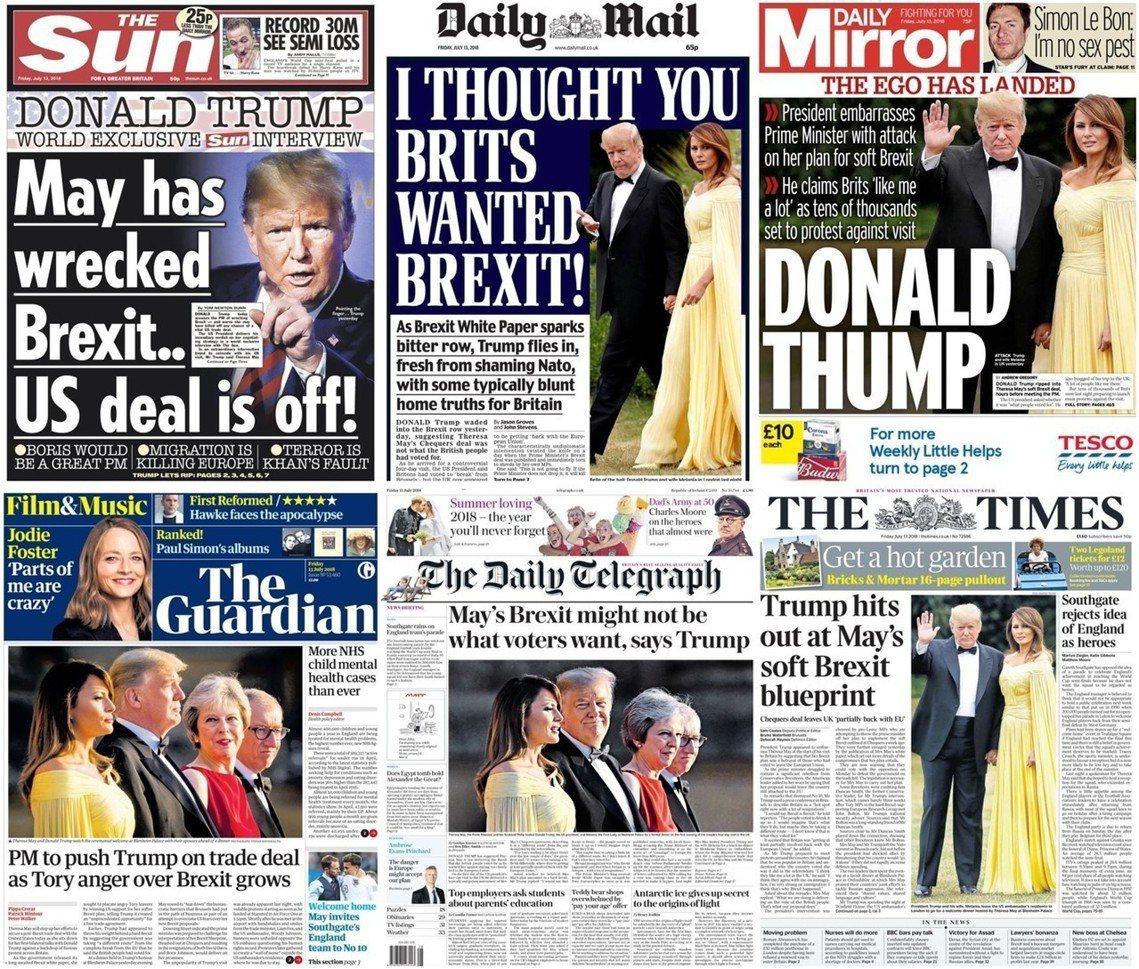 《太陽報》的獨家訪問,成為打臉首相的重磅專訪。