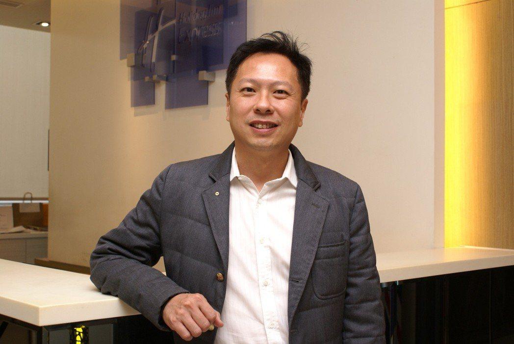 維春開發集團執行長楊國鼎。 吳青常/攝影