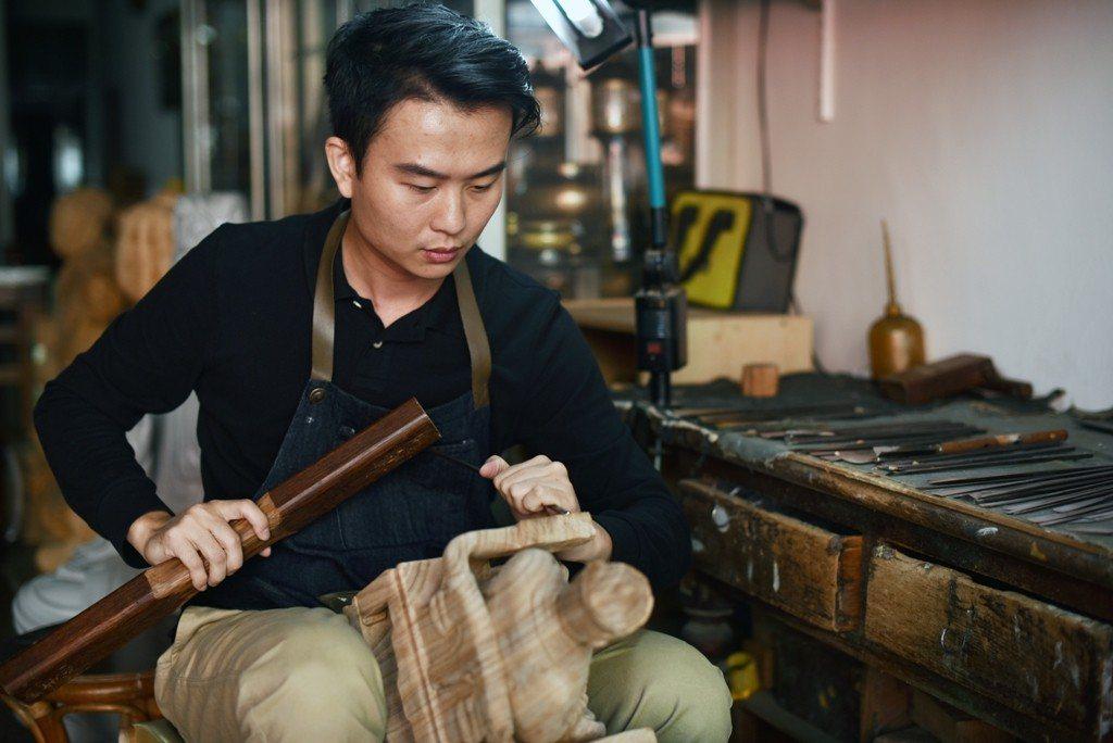 在採訪過許多職人後,趙浩宏和他們都成為了好朋友。圖/趙浩宏提供