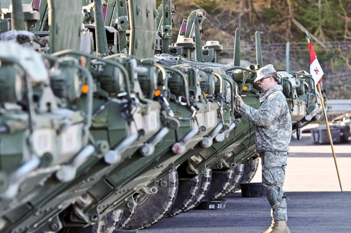 如果美軍撤離德國?圖為美軍位於德國巴伐利亞邦的霍恩費爾斯軍事訓練區(Hohenf...