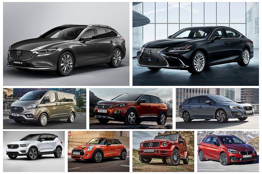台灣經濟部能源局公布6月新車耗能核發資料,其中包括許多已經問市或者即將發表的新車...