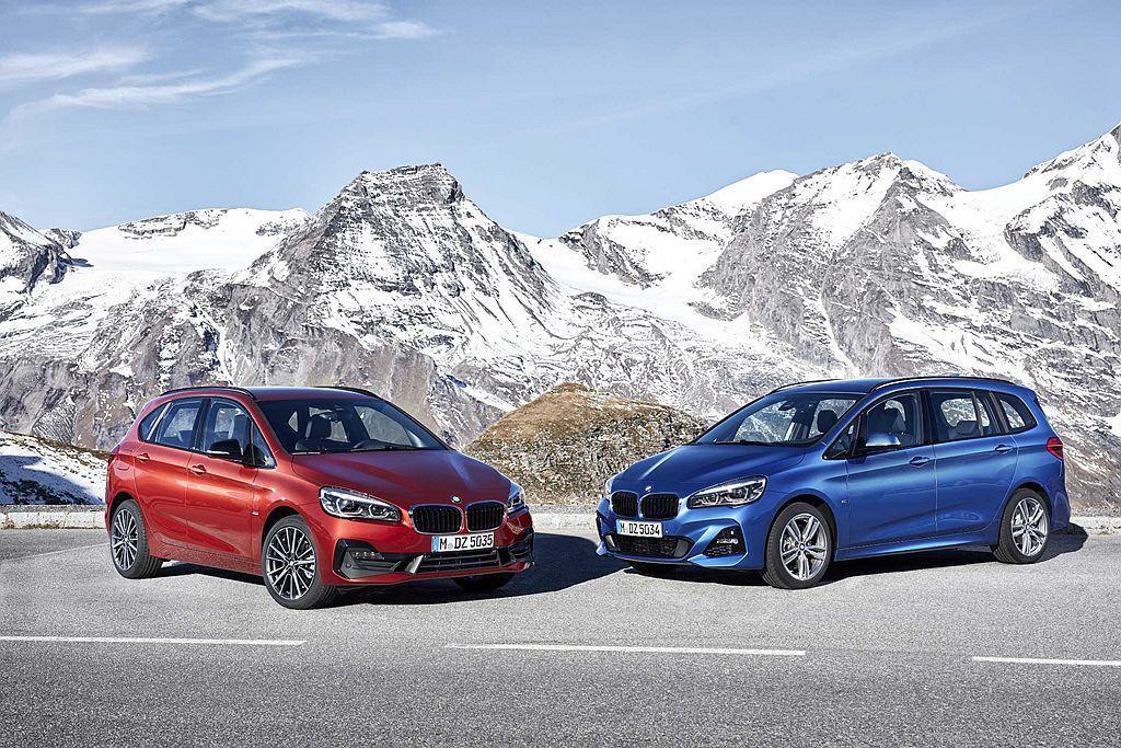 在5月導入的小改款BMW 2系列Active Tourer / Gran Tourer,也已經完成油耗認證測試。 圖/BMW提供