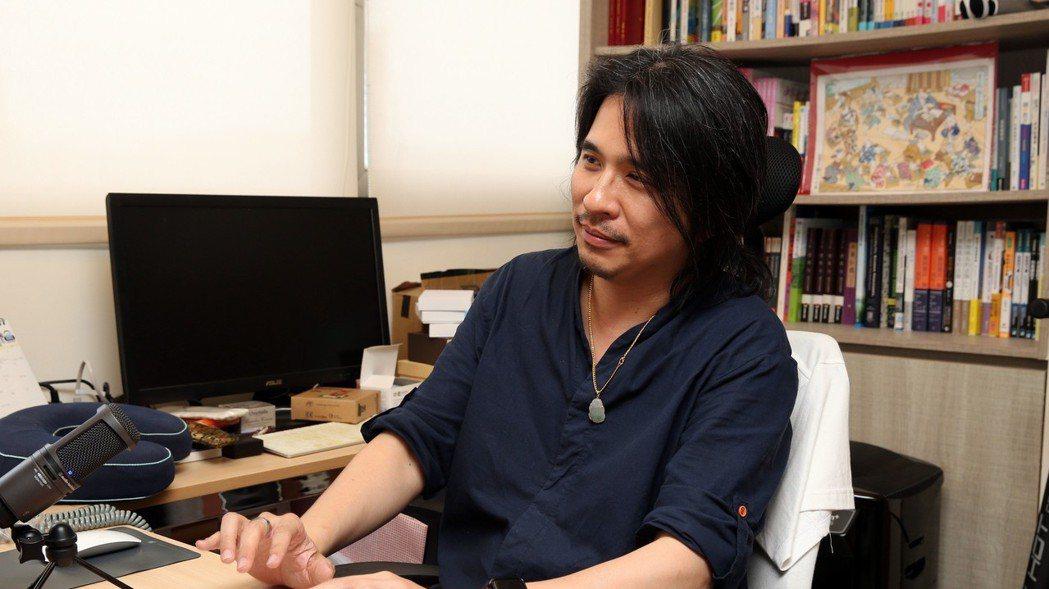 台大電機系教授葉丙成 記者/林俊良攝影