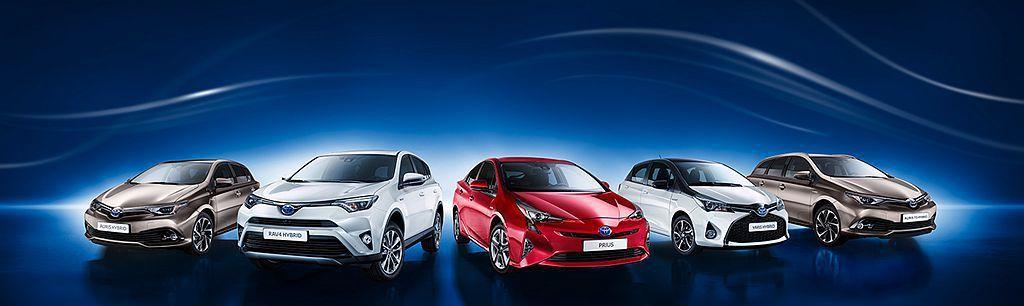 Toyota集團今年上半年在歐洲市場賣出約56萬輛新車,當中Hybrid複合動力車型就占了46%之多,且相比去年再成長23%。 圖/Toyota提供