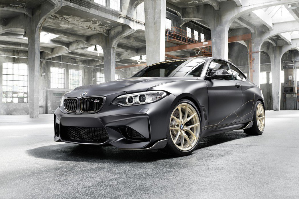 BMW M2 M Performance Parts Concept。 摘自BM...