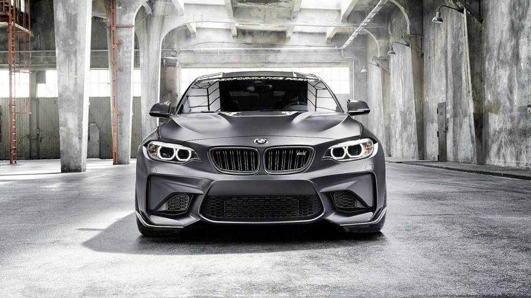 碳纖維裝好裝滿的BMW M2 M Performance Parts Conce...