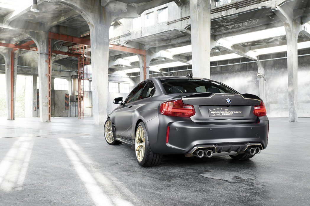 BMW M2 M Performance Parts Concept。 摘自BMW