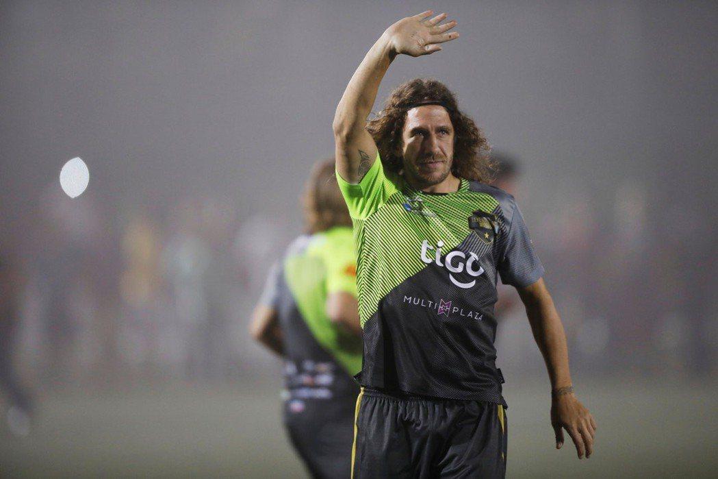 西班牙足球員卡萊斯(Carles Puyol Saforcada)。圖/路透社