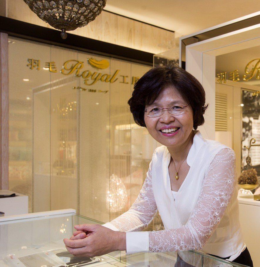 (圖) 皇室創辦人 Judith Chen