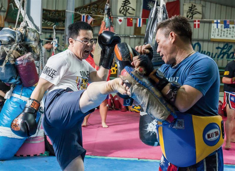 練習泰拳其實是在練習一個人的意志力。