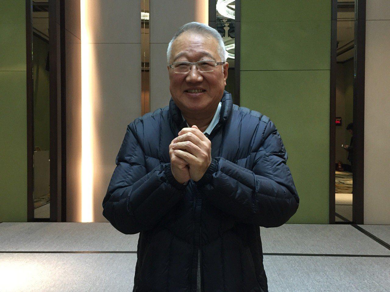 正崴董事長郭台強。 記者曾仁凱/攝影