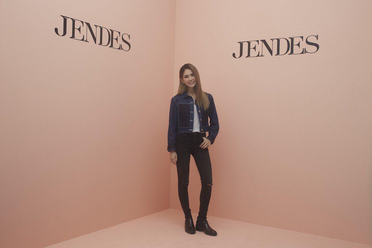 女裝品牌JENDES ,以昆凌(Jen)為品牌的靈魂、形象與創意總監。圖/JEN...