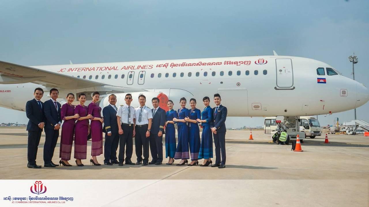去年5月間開航台北-金邊航線的柬埔寨景成國際航空(柬埔寨JC航空)公司,從今年8...