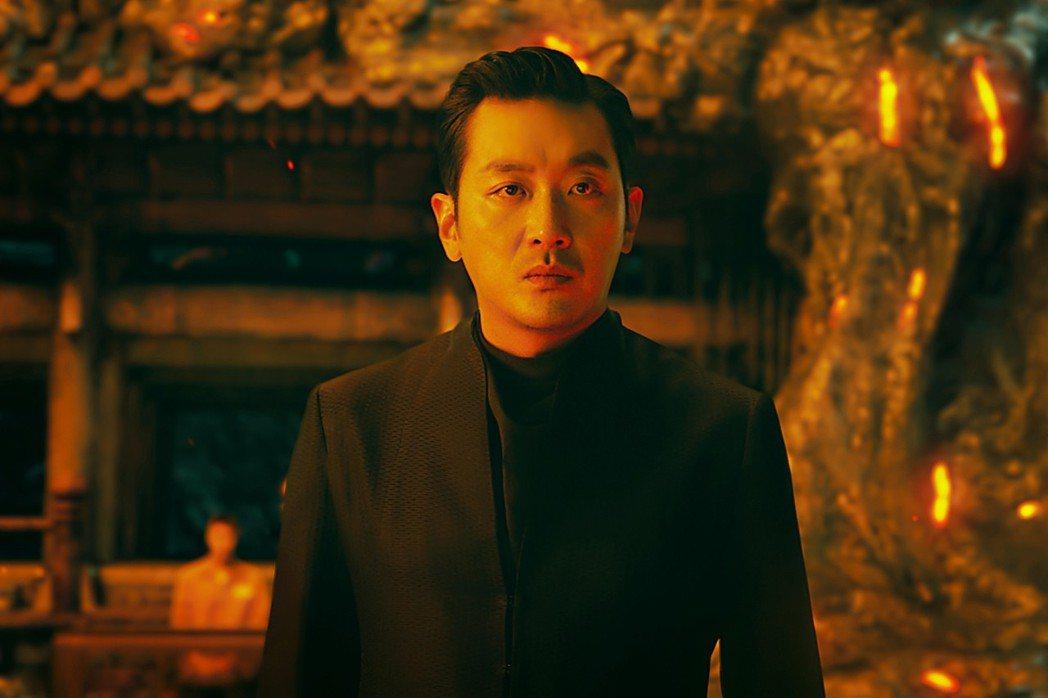河正宇將來台灣為電影「與神同行:最終審判」宣傳。圖/采昌提供