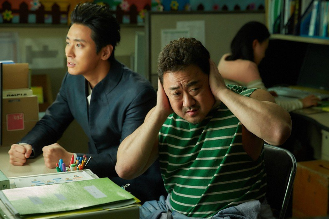 朱智勛(左)、馬東石(右)將是「與神同行:最終審判」的關鍵角色。圖/采昌提供