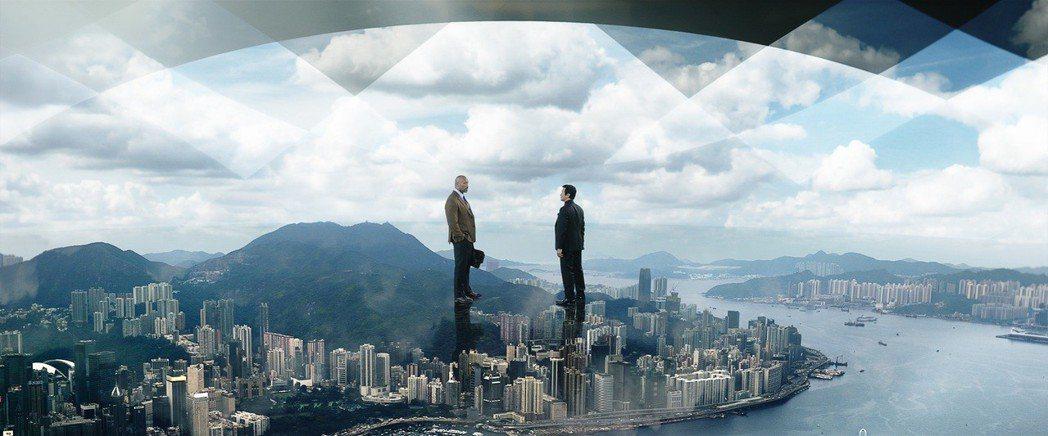 「摩天大樓」有著嘆為觀止的特效奇觀。圖/UIP提供