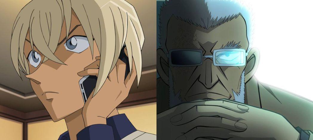 安室透(左)與警視廳主管(右)維護公安的方式迥然不同。圖/向洋提供
