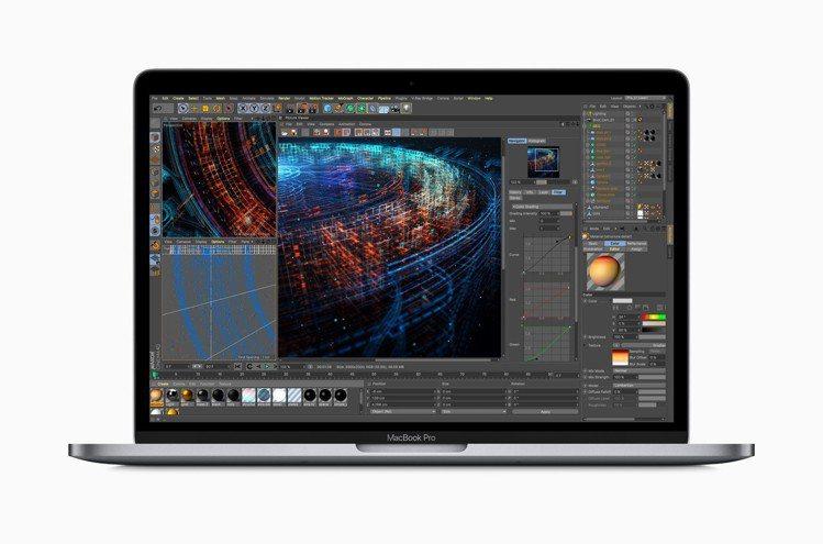 MacBook Pro具備更快速強大的效能,可供執行複雜的模擬運算及數據操作。圖...