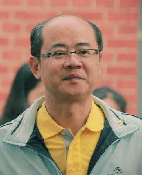 捲土重來投入虎尾鎮長選戰的水利會機要秘書陳威成也來勢洶洶。記者蔡維斌/翻攝