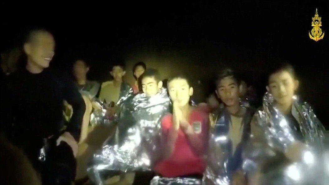 泰國足球小將的洞穴救援歷程可能進軍好萊塢。 (路透)