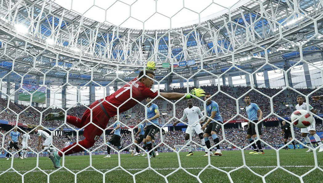 世足賽中國投注金額達1821億元紀錄。 美聯社