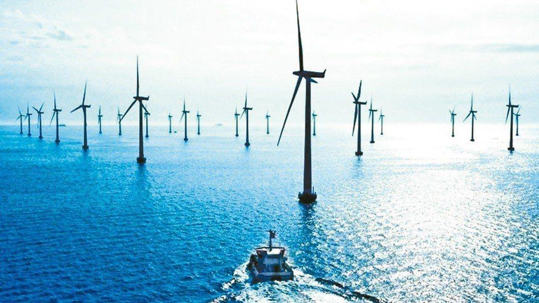 經濟部已完成2025年離岸風電裝置容量5.5GW的分配,即將進入離岸風機的開發階...