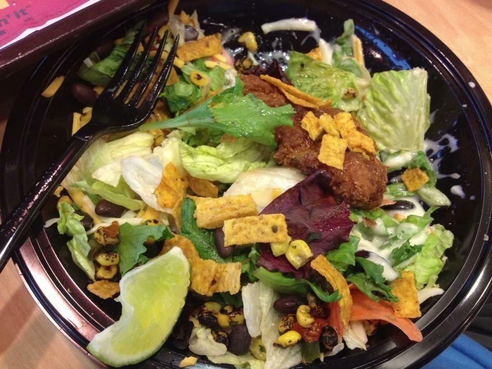 疑寄生蟲感染,美3000家麥當勞停售沙拉。 記者黃惠玲攝影