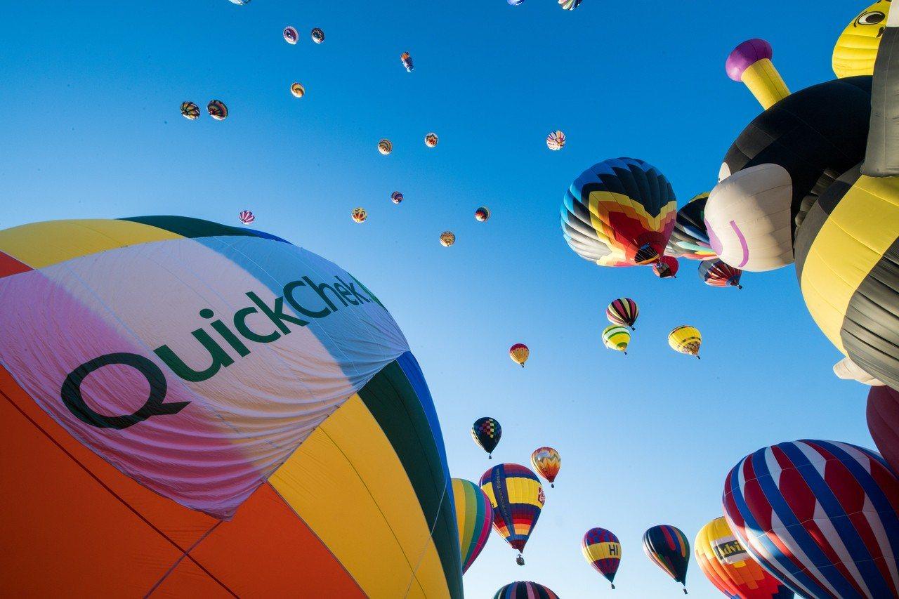 第36屆新州熱氣球節將舉行。 世界日報記者呂賢修/攝影