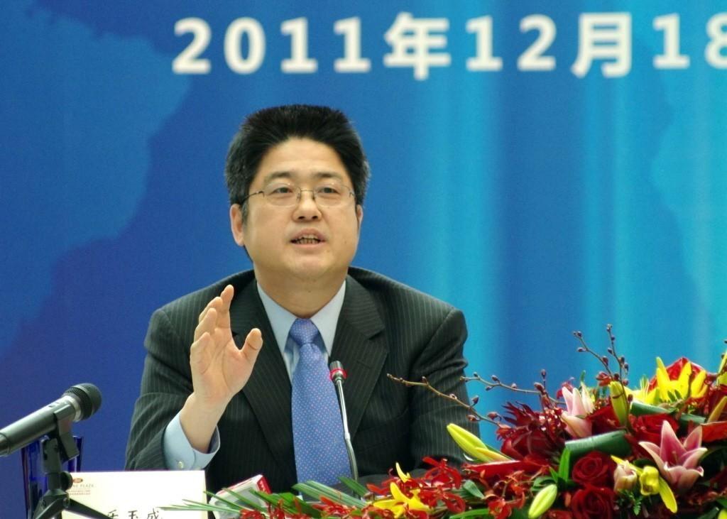 大陸外交部副部長樂玉成。 中新社資料照片