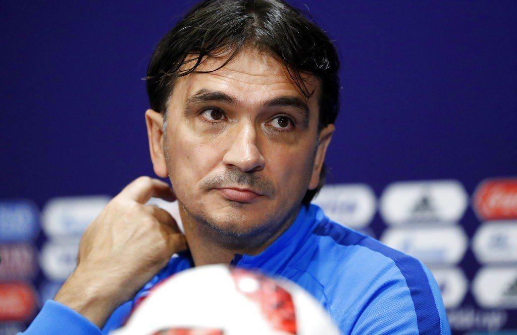 克羅埃西亞教練達利奇。 美聯社