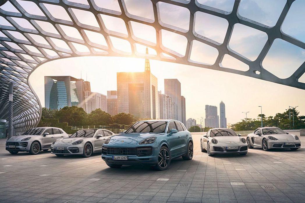 保時捷2018上半年在全球賣出130,598輛新車,不僅成長3%同時也創下保時捷史上最佳的銷售數字。 圖/保時捷提供