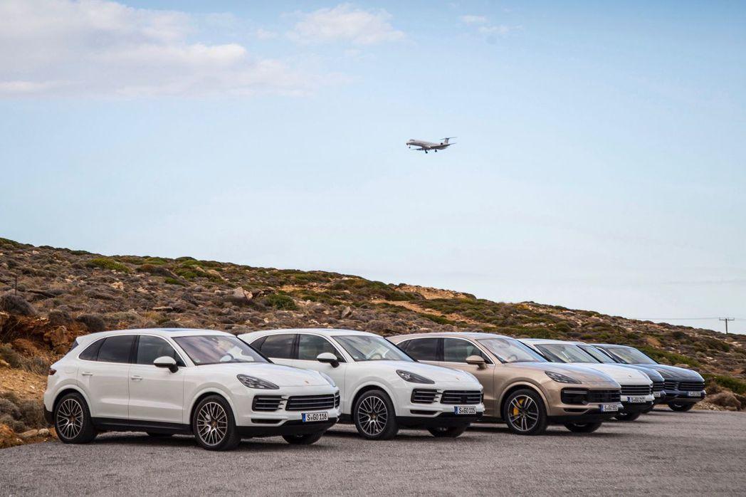 德國跑車廠保時捷,目前品牌最暢銷的級距已經是休旅車,今年上半年共賣出75,300輛規模,已占品牌銷售總額57.6%。 圖/保時捷提供