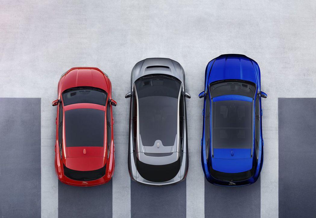 Jaguar旗下目前已有三款休旅。 摘自Jaguar